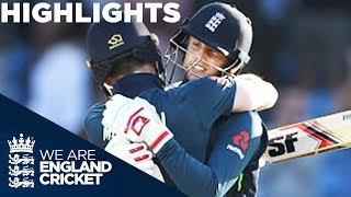 Record Breaker Root Hits Back To Back Hundreds England V India 3rd ODI Highlights
