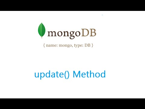 Update Method: MongoDB