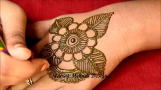 Simple Easy Mehndi Design For Hands For Eid 2018 Simple