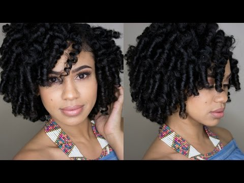 Perm Rod Set Tutorial on Natural Hair feat. True By Made Beautiful
