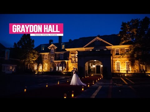 Graydon Hall - Best Toronto Wedding Locations
