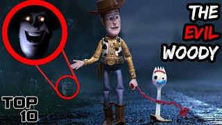Top 10 TERRIFYING Toy Story Easter Eggs That Change Everything