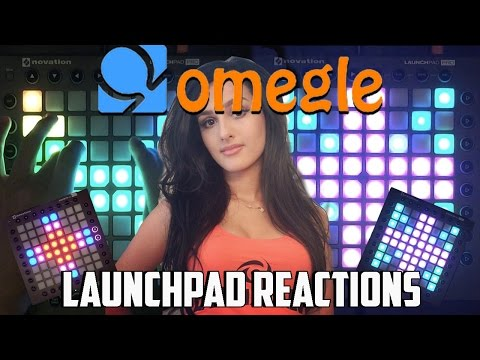 Launchpading On Omegle Reactions | I MET SSSNIPER WOLF (W/ BMG) #1