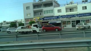 2014-09-20 Driving to Lapta City, North Cyprus video 01.