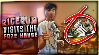 RICEGUM VISITS THE NEW FAZE HOUSE!!