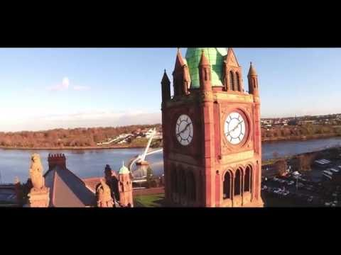 Drone showreel featuring Derry, Donegal, Tyrone and Belfast