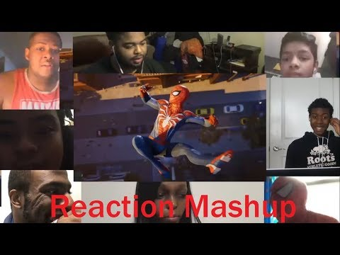 Marvel's Spider Man PS4   Pre Order REACTION MASHUP