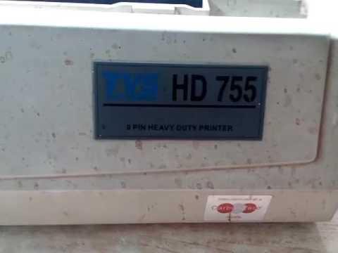 Tvs hd 745/755/955 Printer Repair