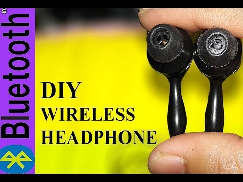 How to make a Wireless ||Make your Own Bluetooth Headphone ||DIY Life Hacks