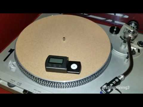 How to Measure the Tracking Force of Your Turntable's Cartridge / Tonearm