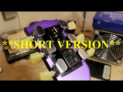 Gibson Les Paul E-tune swap Short Version 2017