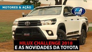 Hilux SR Challenge 4x4 Diesel 2018 e as novidades da Toyota