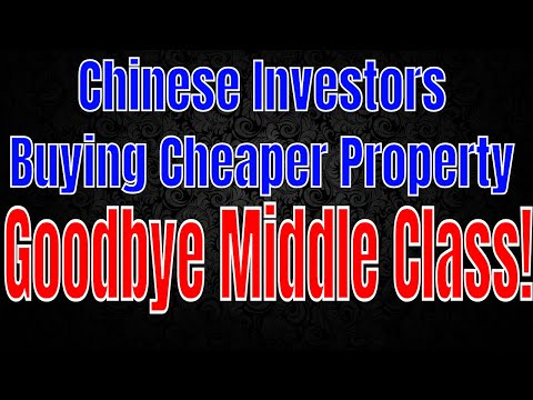 Housing Crisis - Foreign buyers now looking for cheaper properties