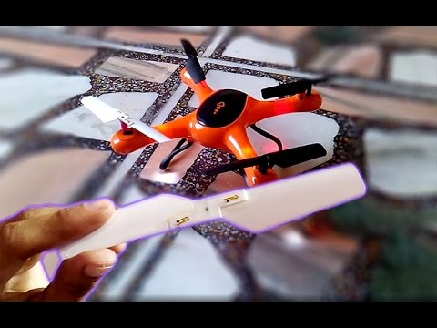 how to make propeller for flying drone at home