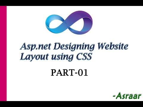 Asp.net Designing Website Layout using CSS Part-01