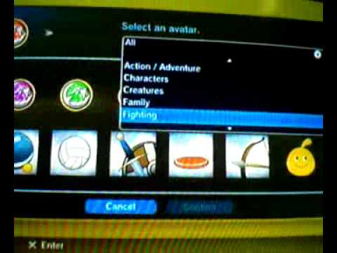 How to change avatar on playstation 3