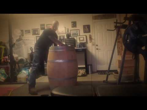 How to dismantle a wine barrel