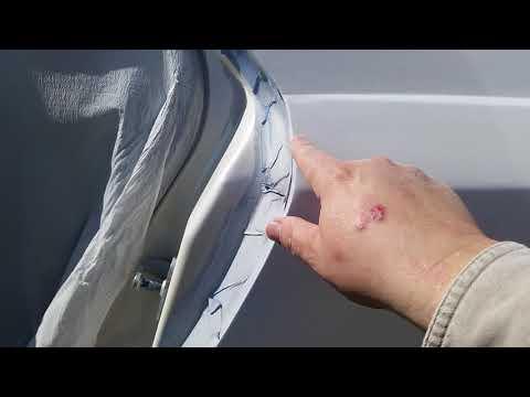 2003 Cadillac CTS Drivers Quarter BAD PRIMER AHH Part 29 of