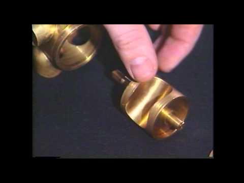 Tuba Repair #2  Rotary Valve Parts  -  Jeff Funderburk