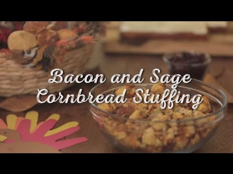 How to Make: Bacon and Sage Cornbread Stuffing