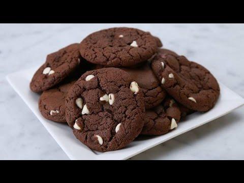 Double Fudge Irish Cream Cookies