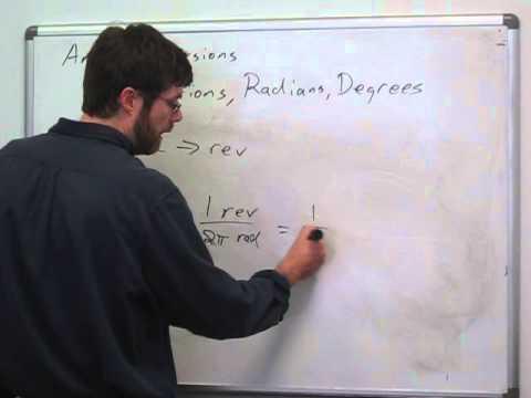 Trigonometry - Angle Conversions with Revolutions (1)