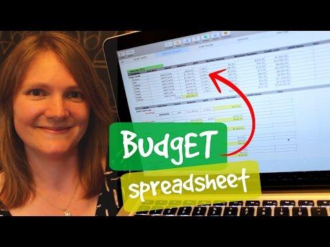 My Zero Based Budget Spreadsheet