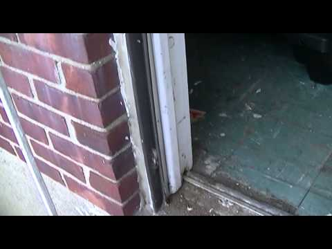 removal of old storm door
