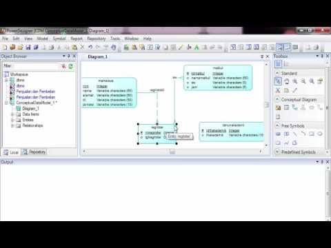 Cara Membuat Database Dengan Sybase Power Designer 16.5