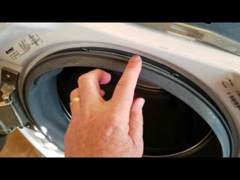 How to Fix a Door Boot Seal on a Kenmore He5t Washing Machine