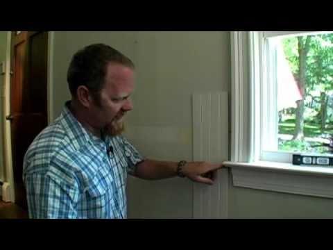 BUILDING SKILLS: How to Scribe Paneling Around Window Trim