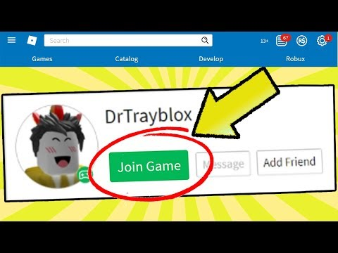 HOW TO JOIN ANY YOUTUBER'S ROBLOX GAME