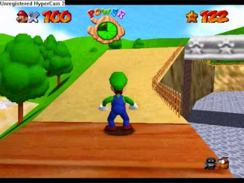 Super Mario 64 LUIGI UNLOCKED