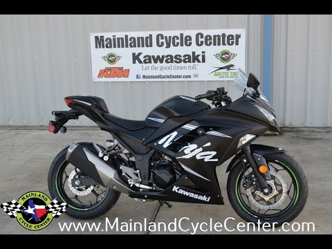 $5,599:  2017 Kawasaki Ninja 300 ABS Winter Test Edition Overview and Review