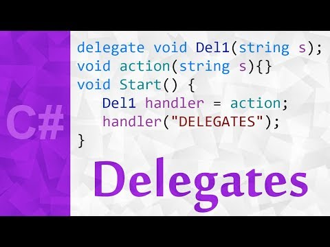 Delegates in C# with Examples 💻 Delegate Definition & Tutorial in Unity