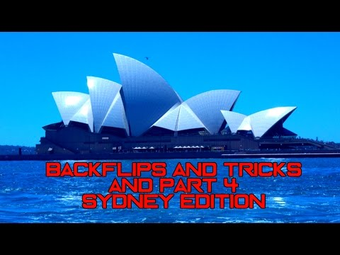Backflips and Tricks Part 4 | Sydney Edition
