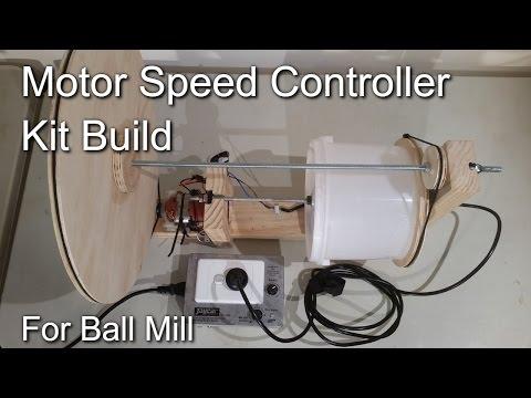 Jaycar motor speed controller - Ball Mill