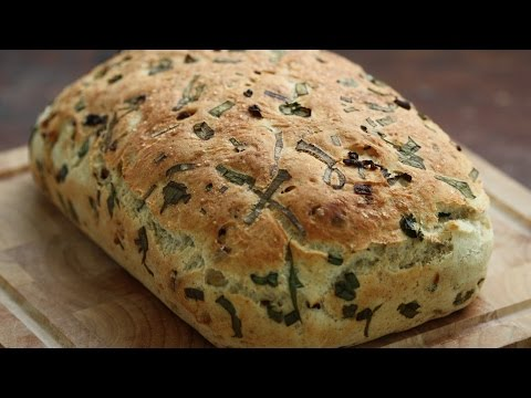 Caramelized Onion Bread Recipe