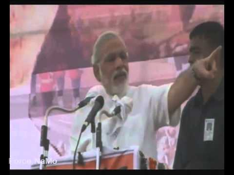 Shri Narendra Modi on neighbours' aggression against us because the central govt is weak