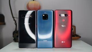 Wide-Angle Cam Showdown: Samsung Galaxy S10 Vs Huawei Mate 20 Vs LG V40