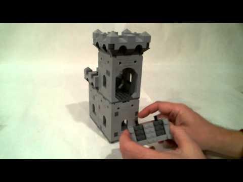 Lego Modular Castle a Demonstration