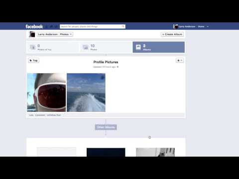 How to Delete Old Profile Pictures on Facebook
