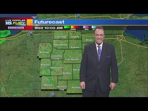 Wednesday Morning Forecast Update