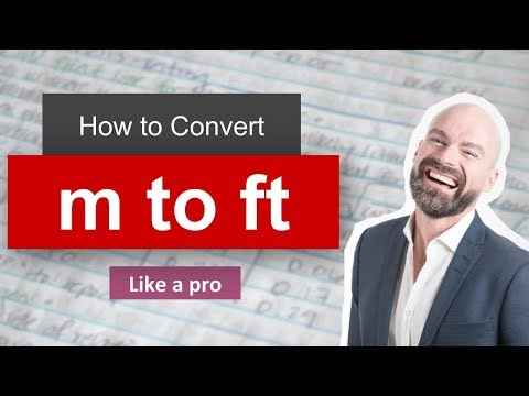 ✅ Convert Meter to Foot (m to ft) - Formula, Example, Conversion Factor