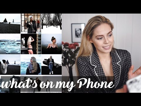 What's on My Phone & Editing Instagram Photos | Cornelia