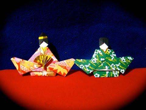 Origami Maniacs 247: Hinamatsuri Dolls