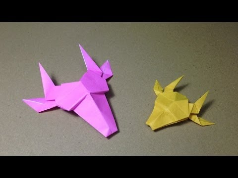 How to Make a Paper Animals / Origami Giraffe