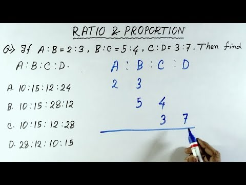 Ratio and Proportion shortcut tricks in hindi | Ratio and proportion tricks | ratio and proportion