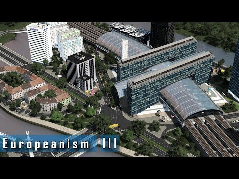 Cities: Skylines - E u r o p e a n i s m : III - Trams and modern development experimentation