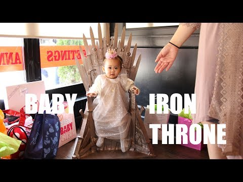 Baby Iron Throne - Game of Thrones